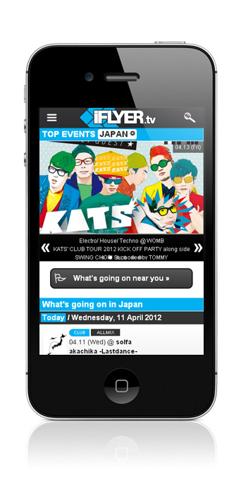 iFLYER.tv iPhone site